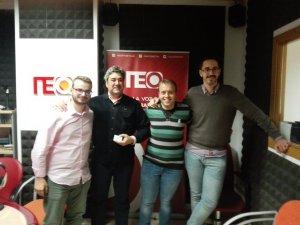 Con Mario Daza y LuisMi Fajardo